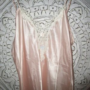 Tiffany's Closet Long Pink Nightgown Made in USA